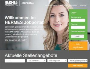 Jobportal Hermes Arzneimittel