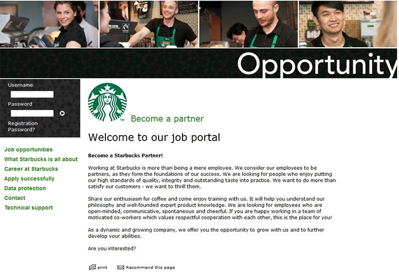 jobportal-starbucks