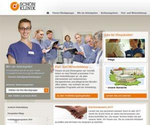 Karriereportal Schön Kliniken