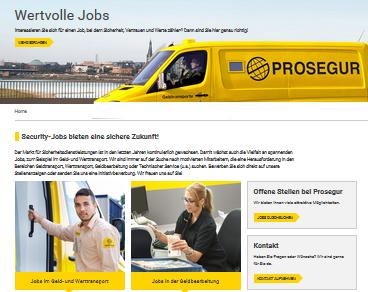 Das rexx Jobportal von Prosegur