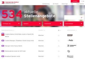 Das neue Karriereportal der ProSiebenSat.1 Gruppe