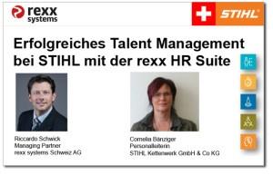 Vortrag Talent Management STIHL Schweiz