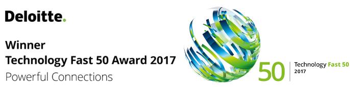 rexx systems auch 2017 Gewinner des Fast 50 Awards
