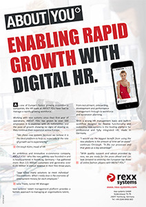 Digital HR Solutions for ABOUT YOU