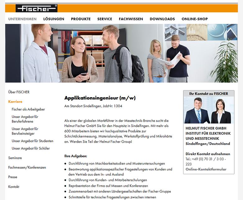 Fischer Jobportal
