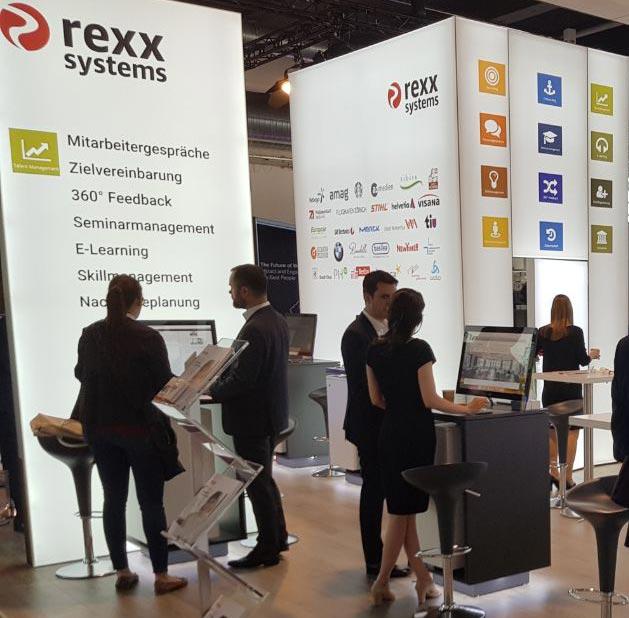 rexx systems auf der Personal Swiss