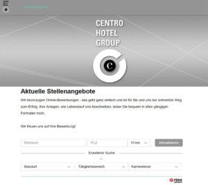 Centro Hotel Group - Stellenportal von rexx