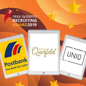 rexx Recruiting Award 2019 vergeben: Das sind die besten Recruiting-Konzepte