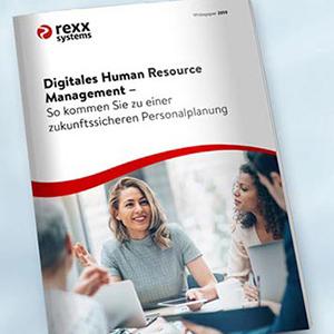 Digitale Transformation im HR - Kostenloses Whitepaper