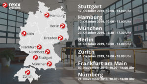 rexx systems Roadshow Herbst 2019