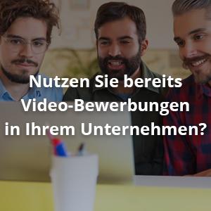 Videointerview im Bewerbungsprozess